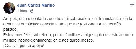 MARINO SOBRESEÍDO