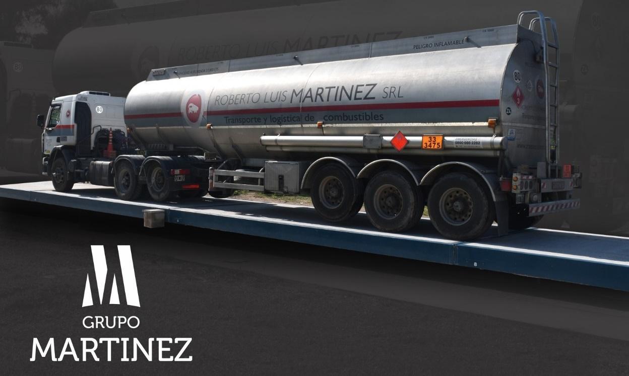 camión Shell Martínez