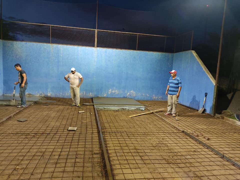 reconstrucción cancha padel sportivo parera 3