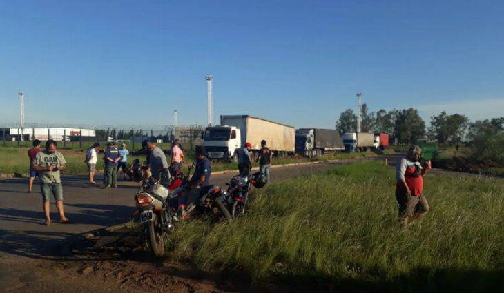 camioneros-paso-fronterizo