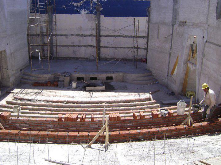Centro Cultural y de Convenciones en construcción 4