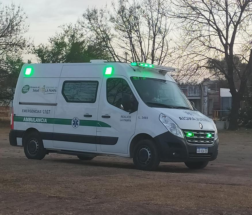 Ambulancia Hospital de Realicó