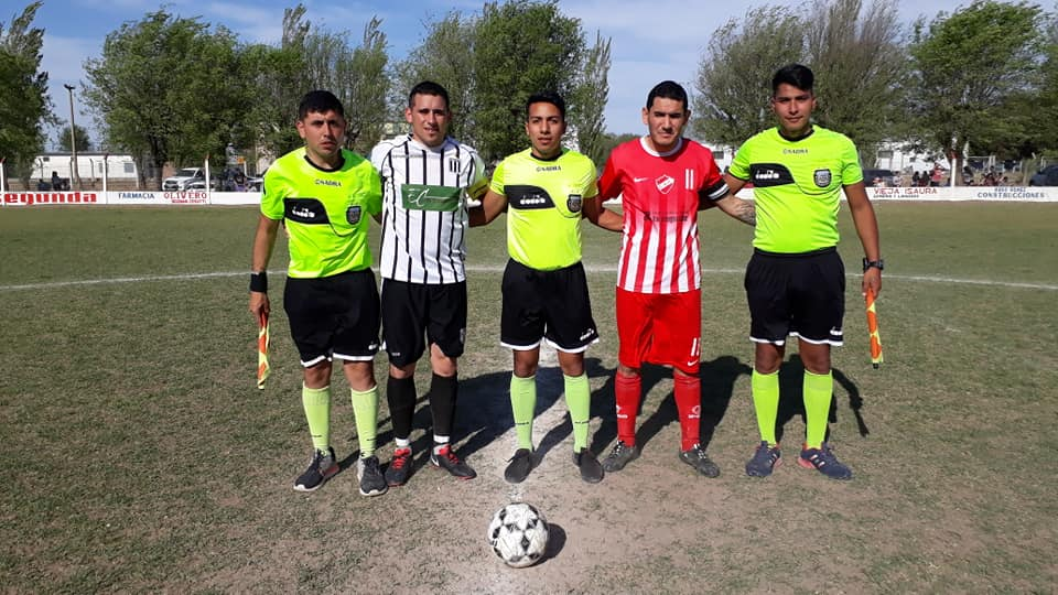 Agrario Matienzo y arbitros