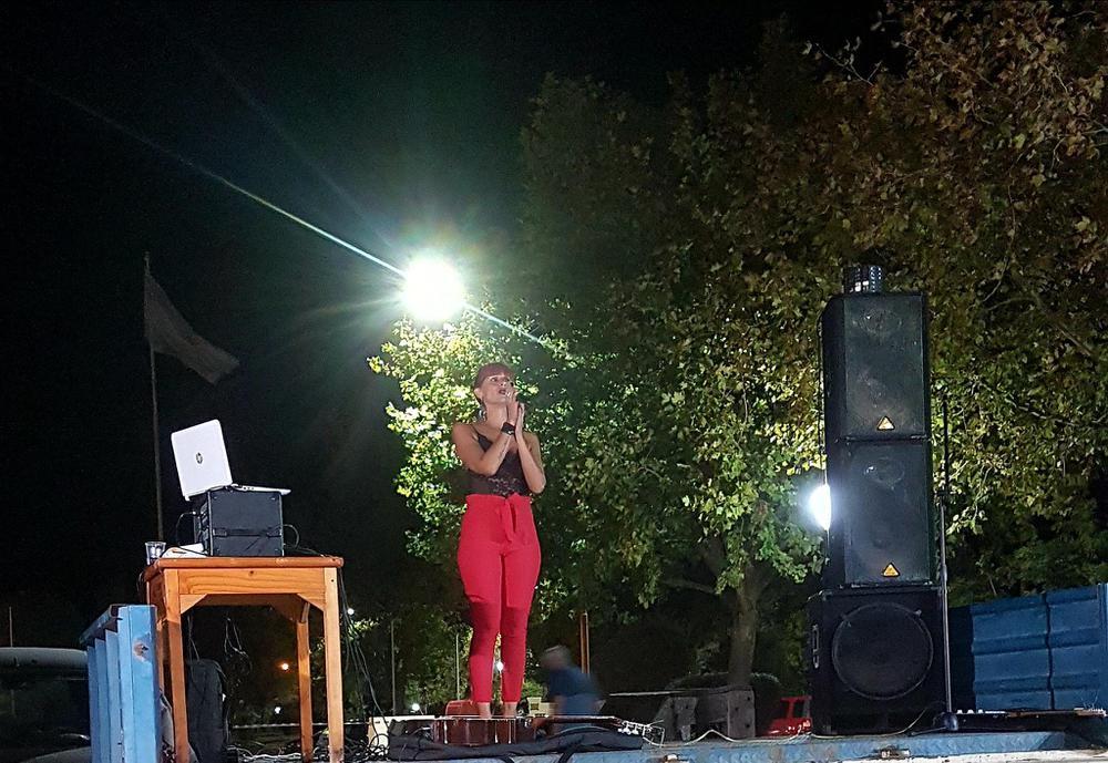 Natalia Sixto en Lagos