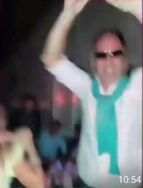 Tellería bailando