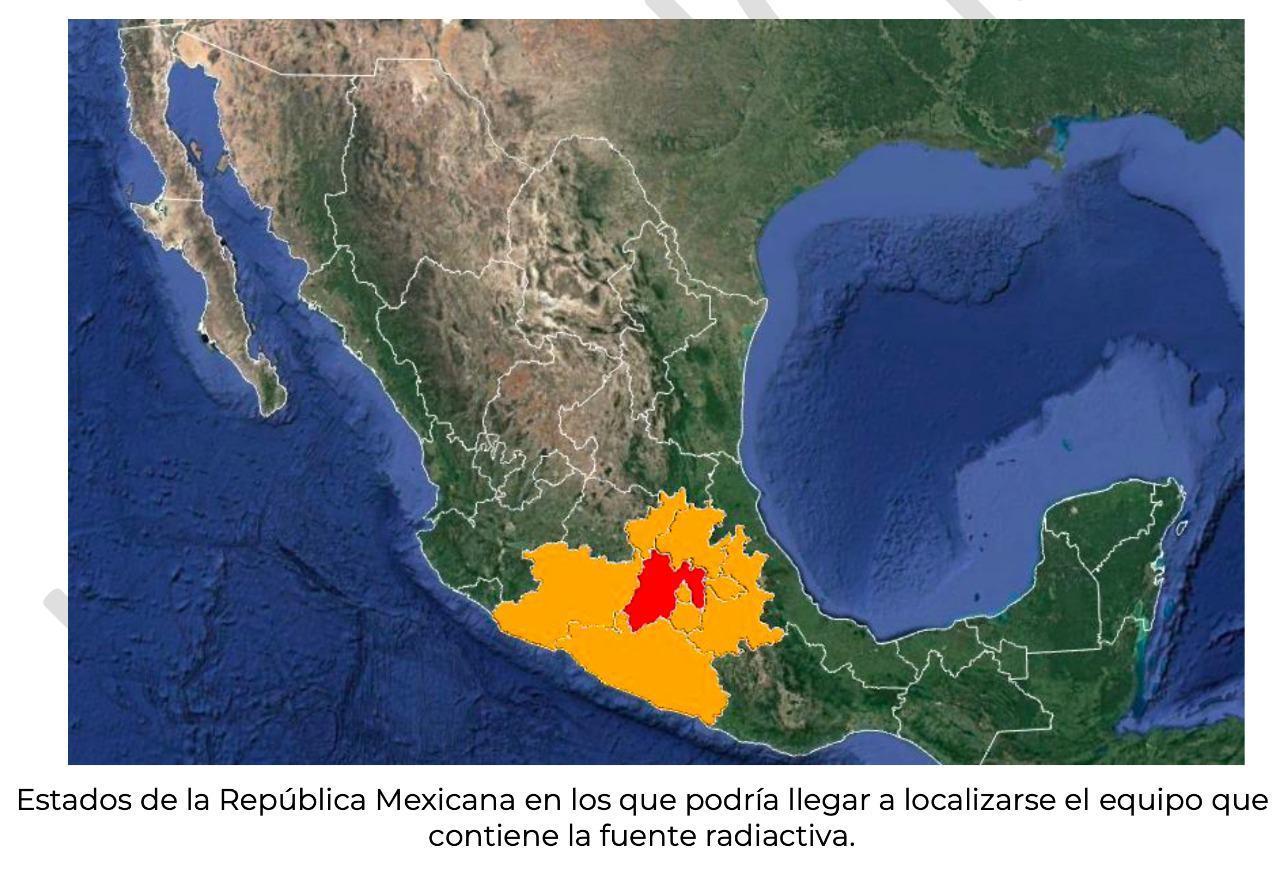 estados alerta México