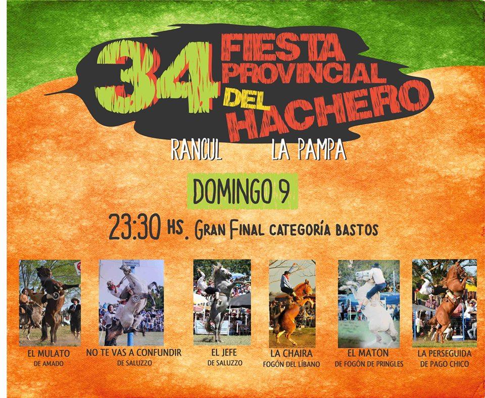 FIESTA DEL HACHERO DOMINGO 2018