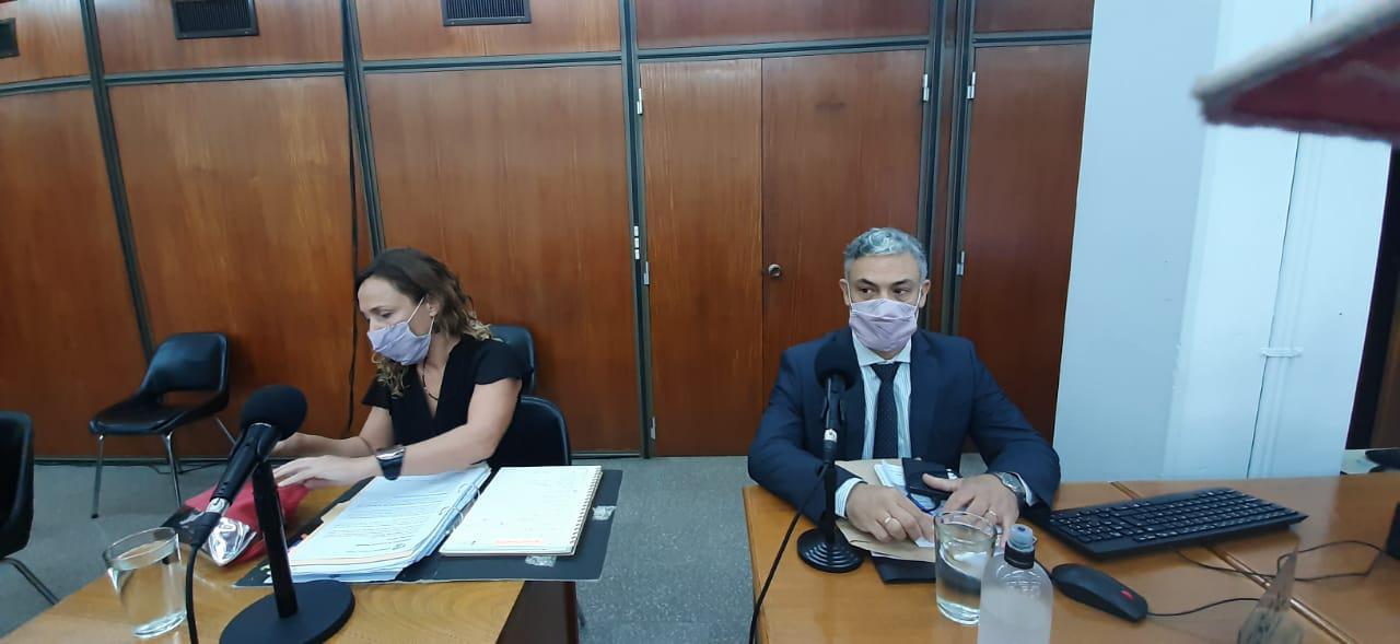 Fiscales M. Veronica Campo y Guillermo Komarokfy