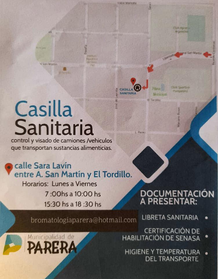 CASILLA SANITARIA