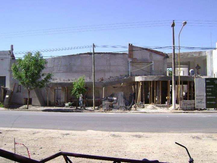 Centro Cultural y de Convenciones en construcción 2