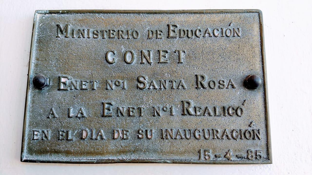 placa de bronce