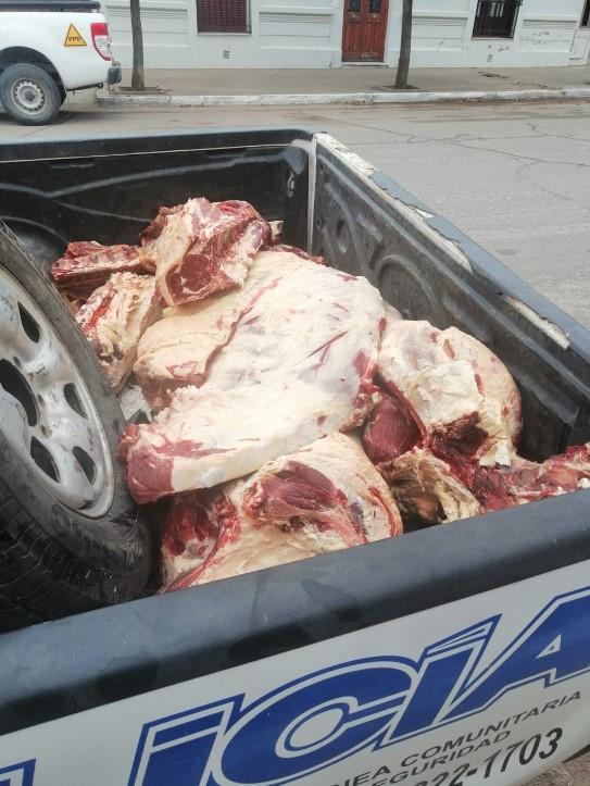 carne decomisada Acha