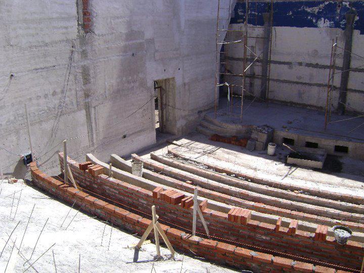 Centro Cultural y de Convenciones en construcción 5